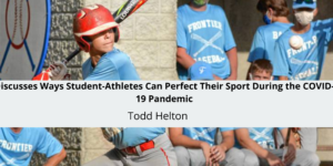 Five-Time All-Star Baseball Great Todd Helton Discusses Ways Student-At