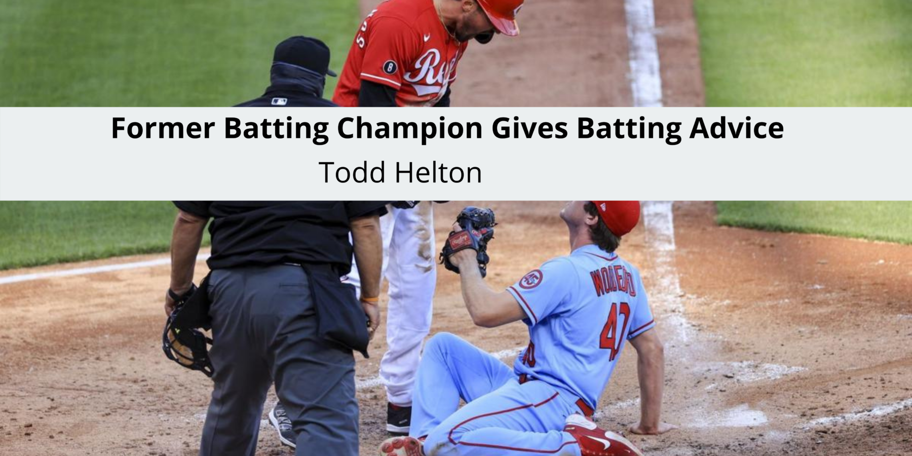 Former Batting Champion Todd Helton has Gives Batting Advice